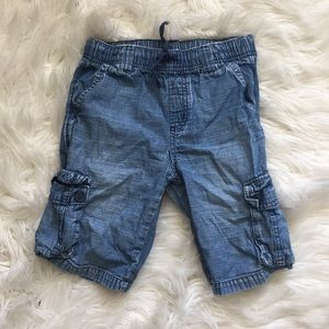 Gymboree soft denim shorts